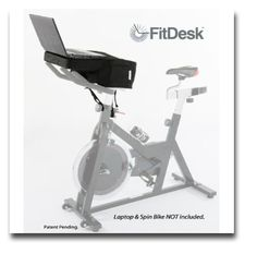 FitDesk Bike Desk | curated by WorkWhileWalking.com
