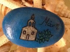Ζωγραφιστή πέτρα -  Painted stone. Decorative Plates, Home Decor, Decoration Home, Room Decor, Home Interior Design, Home Decoration, Interior Design