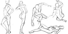 Quick Poses Art Session