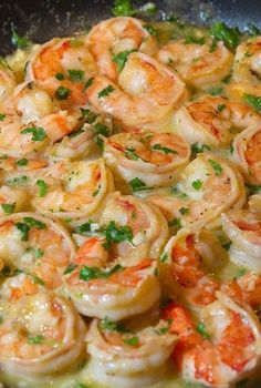 Seafood Recipes, Mexican Food Recipes, Diet Recipes, Cooking Recipes, Healthy Recipes, Keto Snacks, Healthy Snacks, Healthy Fats, Scampi Recipe