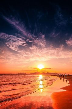 Sunset and Clouds by Lee Geon photopia