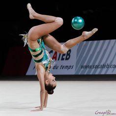 Ekaterina SELEZNEVA (RUS) Ball Acrobatic Gymnastics, Gymnastics Girls, Russia, Exercise, Sports, Ribbon, Costume, Facebook, Board