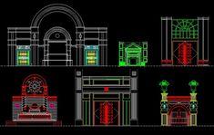 ★【Entrance Design】★-CAD Library   AutoCAD Blocks   AutoCAD Symbols   CAD Drawings   Architecture Details│Landscape Details