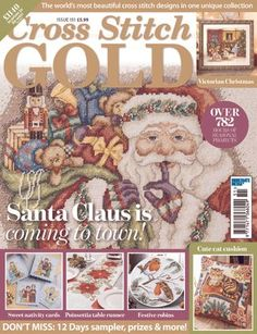 Get your digital subscription/issue of Cross Stitch Gold-Issue 151 Magazine on Magzter and enjoy reading the magazine on iPad, iPhone, Android devices and the web. Victorian Christmas, Christmas Cross, Diy Christmas, Christmas Ornaments, Cross Stitch Designs, Cross Stitch Patterns, Cross Stitches, Cat Cushion, Stitch Magazine