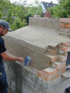 Bauanleitung für Brotbackhäuser, Holzbrotofen, Brot selberbacken im Holzbrotofen