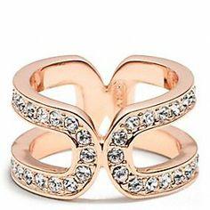 Double wrap ring by Coach       Wanelo