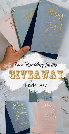 Giveaway 2020 elegant wedding invitation ideas #wedding#weddinginvitations#stylishwedd#stylishweddinvitations #vellumweddinginvitations #freeweddinginvitations