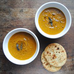 Roast squash soup from Kitchenist