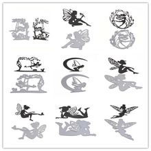 20 Styles Embossing Steel Fairy Wing Fly Cutting Dies Stencils DIY Scrapbooking Card Album Photo Painting Template Metal Craft(China (Mainland))