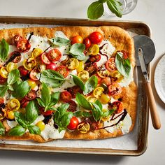34 Easy Sunday Dinners Ready in 30 Minutes or Less Vegetarian Pizza Recipe, Pizza Recipes, Easy Dinner Recipes, Cooking Recipes, Healthy Recipes, Dinner Ideas, Vegetarian Meals, Healthy Meals, Wheat Pizza Dough