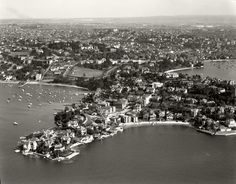 Point Piper and Rose Bay, August 1937 . Royal Society Of Arts, Service Club, Sydney News, Rose Bay, Growing Orchids, Local History, International Airport, Netherlands, City Photo