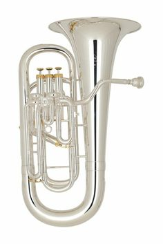 Brass Instruments now at Guaranteed Lowest Prices - carosta.com - Miraphone M5050 Ambassador Series Compensating Euphonium Silver