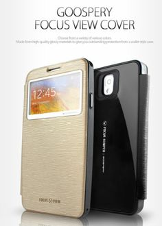 Mercury Goospery Focus View Cover Case for iPhone 5/5s