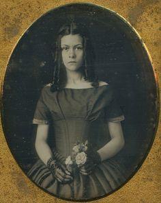 Young girl, circa 1840's