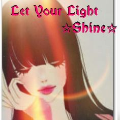 Let Your Light Shine♡ Let Your Light Shine, Daily Walk, Light Of The World, Prayers, Let It Be, God, Dios, Prayer, Allah