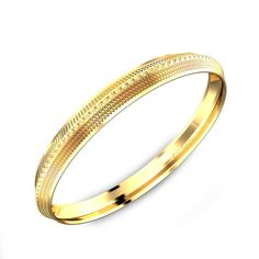 Classic Design Men's Gold Kada