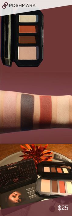 """💯💯Kat Von D- Shade + Light Eye in """"RUST"""" 💯 Brand New and Authentic!! 💯💯 Get ready to transform your eyes through the ART of Color Contour!! 🙌🙌 Gifts with Purchase!! 😘😘 Kat Von D Makeup Eyeshadow"""