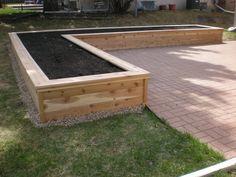 Garden Boxes, a Beautiful Idea of Garden Design - Vegetable Planter Boxes, Large Garden Planters, Backyard Planters, Raised Planter Boxes, Garden Planter Boxes, Large Backyard, Glass Garden, Box Garden, Vegetable Garden