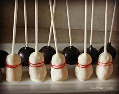 Bowling Pins Cake Po