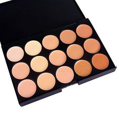 15 Color Cosmetic Matte Eyeshadow Cream Eye Shadow Makeup Palette Shimmer Set L B Type -- Check out the image by visiting the link.