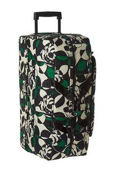 Vera Bradley Luggage Lighten Up Large Wheeled Duffel (Imperial Rose) Duffel Bags - Vera Bradley Luggage, Lighten Up Large Wheeled Duffel, 15569-D18, Bags and Luggage Duffel, Duffel, Bag, Bags and Luggage, Gift, - Street Fashion And Style Ideas