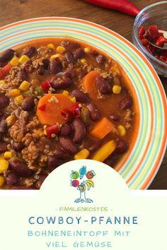 Cowboy-Pfanne: Chilli Con Carne für Kinder