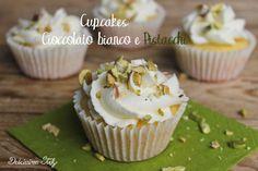 Cupcakes Cioccolato bianco e Pistacchi