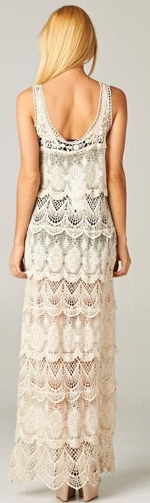 Crochet Gabriella Dress... I need to get better and focused to make gorgeous things like this