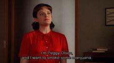 Resultado de imagem para my name is peggy olson