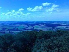 Výhled z Blaníku.