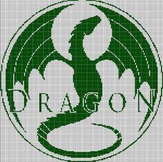 DRAGON+CROCHET+AFGHAN+PATTERN+GRAPH
