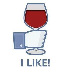 Facebook should really make this icon. :) #Wine #Humor #wineglasswriter