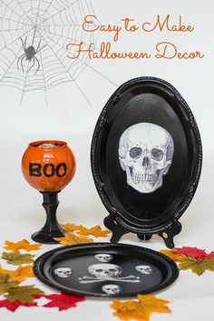 DIY Halloween : DIY Halloween Treat Dishes : DIY Halloween Decor