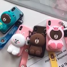 🔥Doll pouch phone case🔥 👍With lanyard🌱🐸 👍With Doll pouch coin purse🌱🐸 👍With high-strength protection function to protect the phone 🌱🐸 Fluffy Phone Cases, Cute Phone Cases, Kawaii Phone Case, Craft Work For Kids, School Bag Essentials, Sofia The First Birthday Party, Cute Egg, Disney Phone Cases, Cute Clay