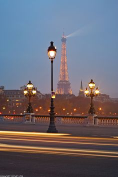 Pont Alexandre III and Tour Eiffel -