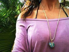 Aquamarine necklace $20