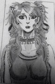 Broken wings character sketch Lindsay Murphy illustration