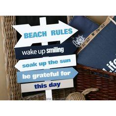Tabliczka drogowskaz Plaża