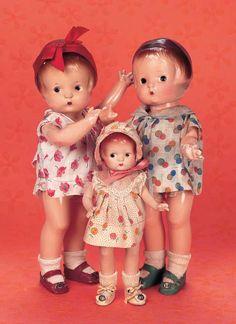 Patsy Dolls by Effanbee