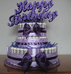 """Money Cakes from Creative Creations by MC, Is a great, unique and fun way to give a sweet treat you don't eat!  Send a Unique Fun Gift """" Birthday"""" or """" Anniversary"""" say it with a money cake!  Money cakes are approximately 10"""" x 12"""" they are available in denominations of $25, $50, $75 $100, $150 and $200. The cakes are made with real money most cakes are made with $1, upon your request I can mix in"""