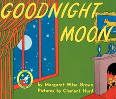 Goodnight Moon is one of the first books I ever read to my kids.  #PrimroseReadingCorner
