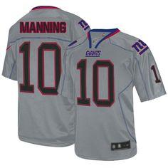 Men's Nike New York Giants Eli Manning Elite Lights Out Grey Jersey Eli Manning Jersey, Peyton Manning, John Gibson, Lawrence Taylor, Dez Bryant, Nfl Green Bay, Nfl Shop, Portland Trailblazers, Trail Blazers