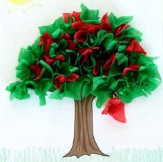 Tissue tree. Zacchaeus