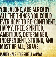 Mandy Hale, The Single Woman