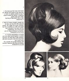 Fashionable 1960's Hair Styles
