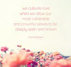 vulnerability - brene brown