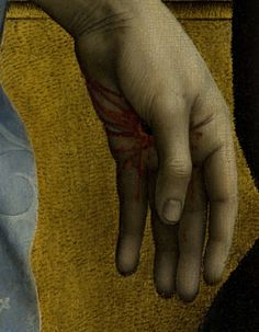 The Descent from the Cross (detail), Rogier van der Weyden, ca.1435-8