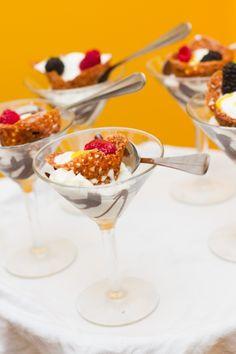 martini glass dessert