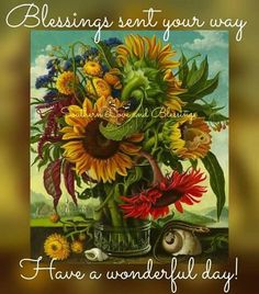 Blessings sent your way.......