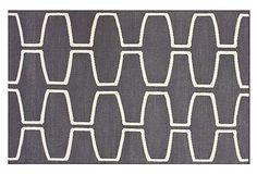 Siena Flat-Weave Rug, Gray on OneKingsLane.com